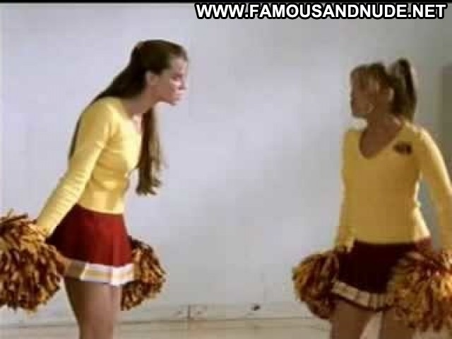 Sarah Michelle Gellar Nude Sexy Scene Cheerleader American