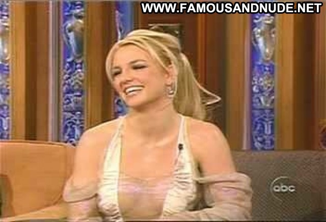 Britney Spears Jimmy Kimmel Live Cleavage Breasts Celebrity Big Tits