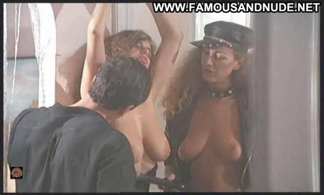 Deborah Caprioglio Spiando Marina Celebrity Big Tits Leather Breasts