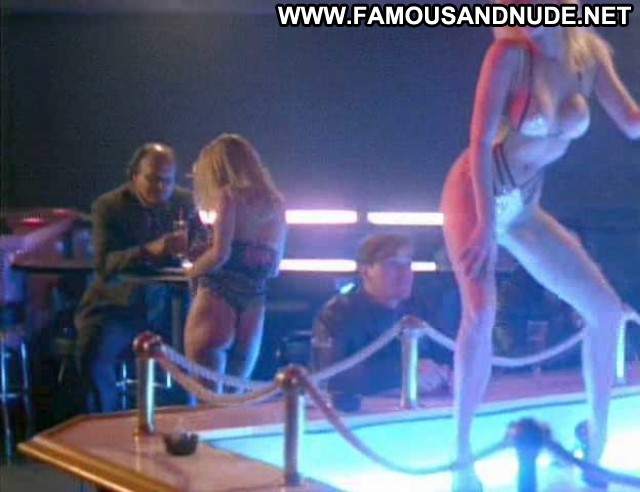 Donna Baltron Nypd Blue Thong Big Tits Celebrity Panties Black Bikini