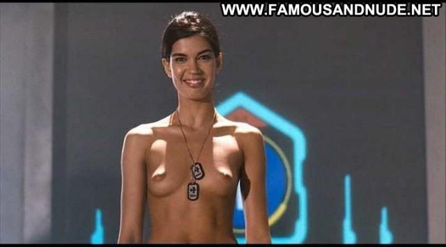 Cecile Breccia Starship Troopers   Marauder Celebrity Big Tits Nude