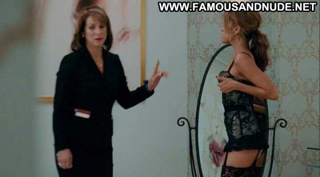 Eva Mendes The Women Lingerie Breasts Black Cleavage Celebrity
