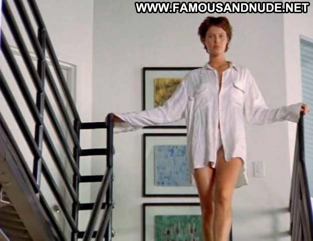 Alaina Huffman Pendulum Bed Shirt Big Tits Topless Celebrity Breasts