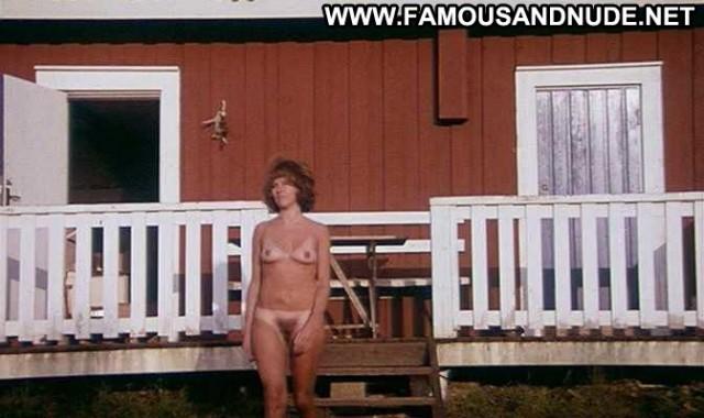 Birgitta Molin Exposed Big Tits Breasts Nude Lake Celebrity