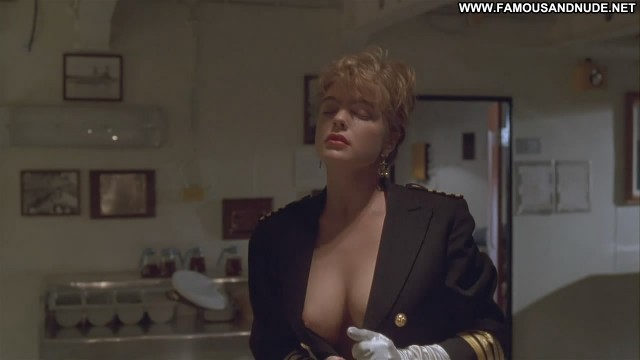 Erika Eleniak Under Siege Thong Breasts Cake Celebrity Big Tits Black