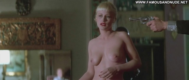 Patricia Arquette Lost Highway Stripping Breasts Big Tits Panties Bra