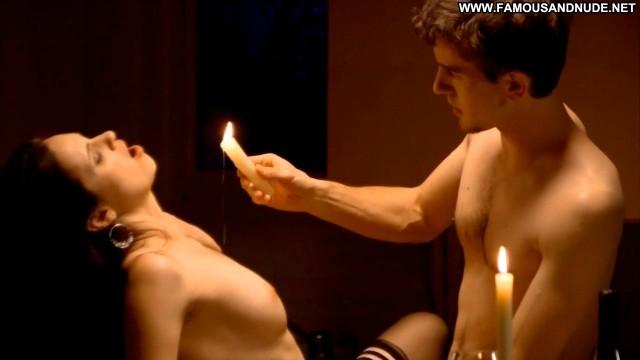 Denise Cobar Lingerie Breasts Big Tits Black Lingerie Stockings