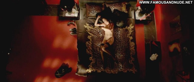 Alexis Knapp The Anomaly Floor Sex Bed Breasts Stockings Big Tits