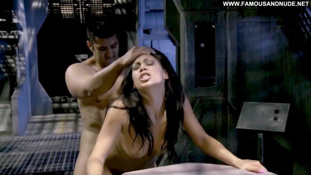 Cassandra Cruz Naked In Space Celebrity Sex Big Tits Bra Breasts