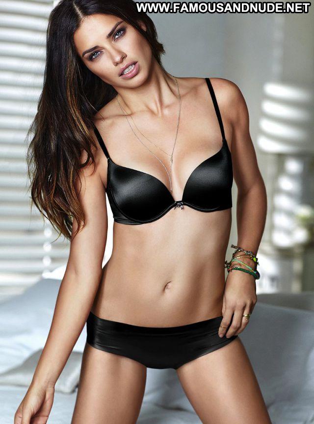 Adriana Lima No Source Lingerie Posing Hot Blue Eyes Babe Hot Brazil