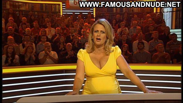 Barbara Schoneberger No Source Tits Big Tits Posing Hot Blonde Babe