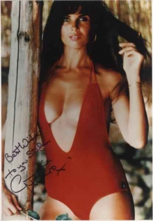 Caroline Munro Celebrity Posing Hot Babe Celebrity Showing ...
