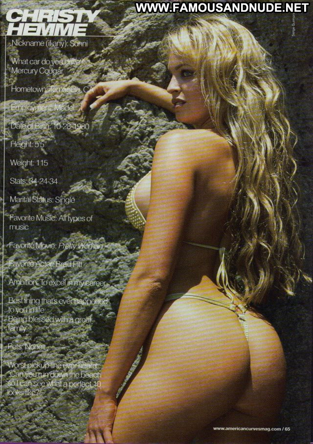 Christy Hemme No Source Babe Tits Big Tits Hot Celebrity Posing Hot