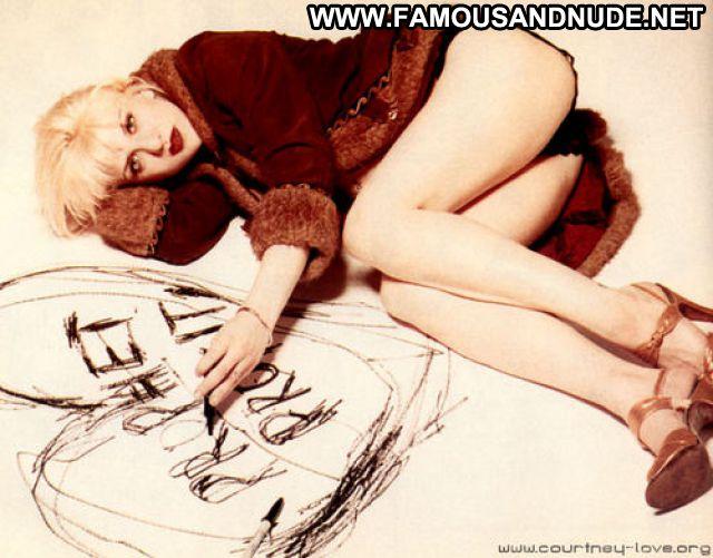 Courtney Love Blonde Cute Hot Celebrity Babe Posing Hot Posing Hot