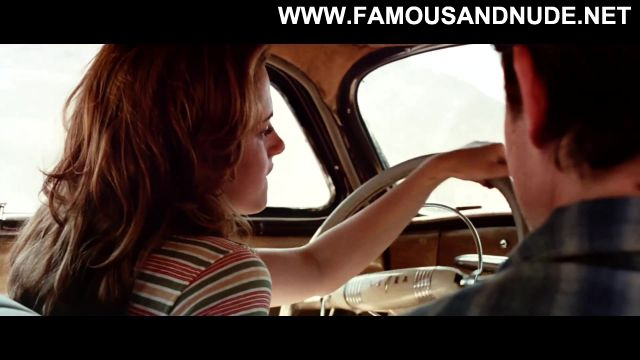 Kristen Stewart Nude Sexy Scene On The Road Handjob Car Cute