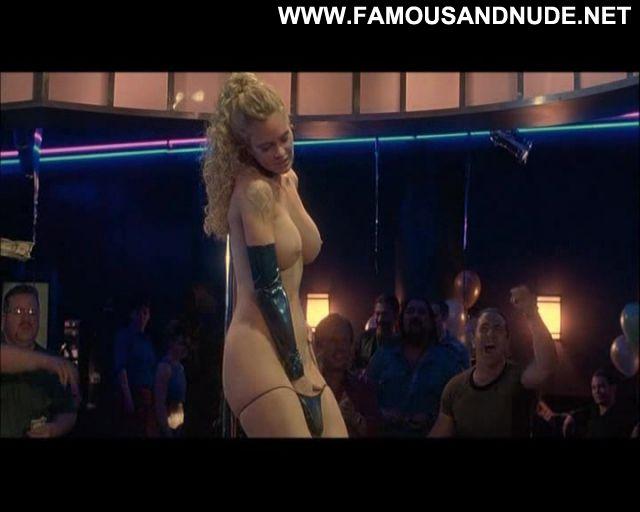 Kristin Bauer Blue Iguana Striptease Showing Ass Big Tits