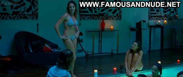 Cecile Cassel Many Kisses Later Party Pool Bikini Beautiful