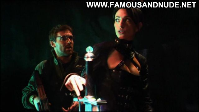 Claudia Black Nude Sexy Scene Stargate Leather Fetish Female