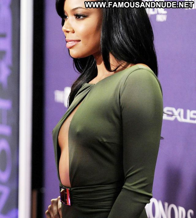 Gabrielle Union Sexy Dress Showing Tits Nude Scene Actress