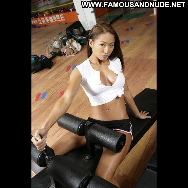 Gail Kim No Source Celebrity Bikini Posing Hot Babe Posing Hot Asian