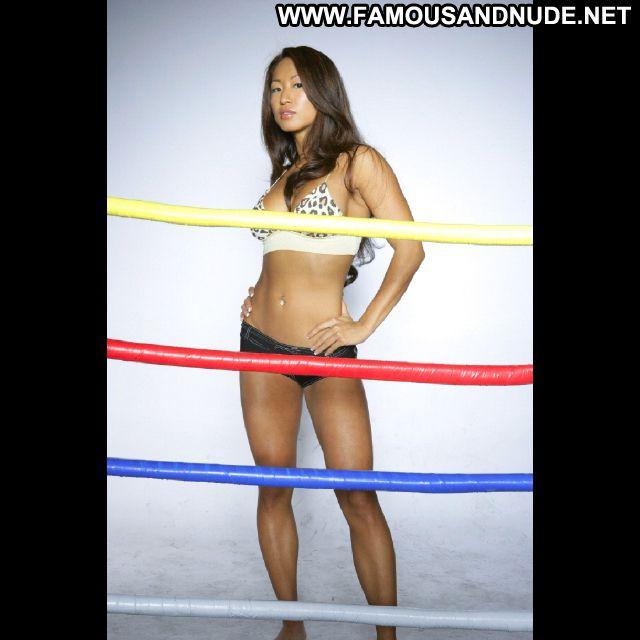 Gail Kim No Source Bikini Babe Posing Hot Cute Posing Hot Asian Hot