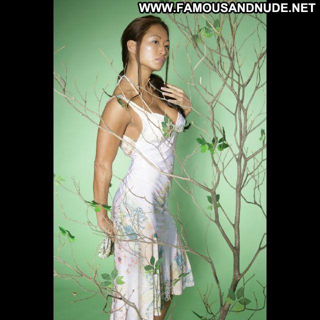 Gail Kim No Source Famous Sexy Dress Posing Hot Celebrity Sexy Cute