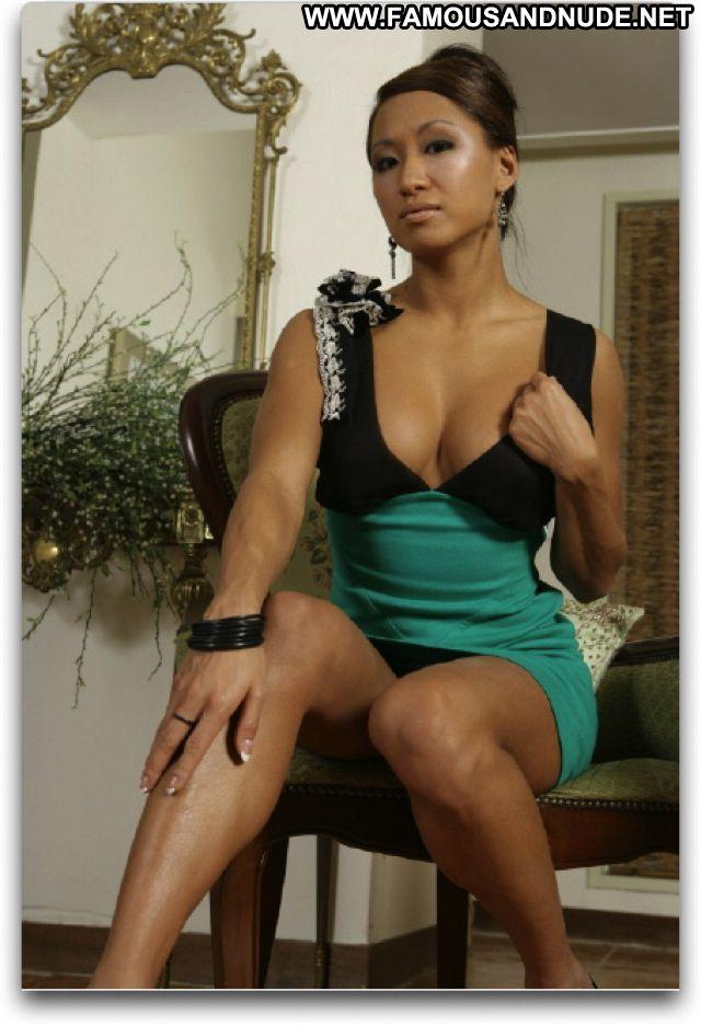 Gail Kim No Source Hot Cute Celebrity Babe Asian Posing Hot Famous