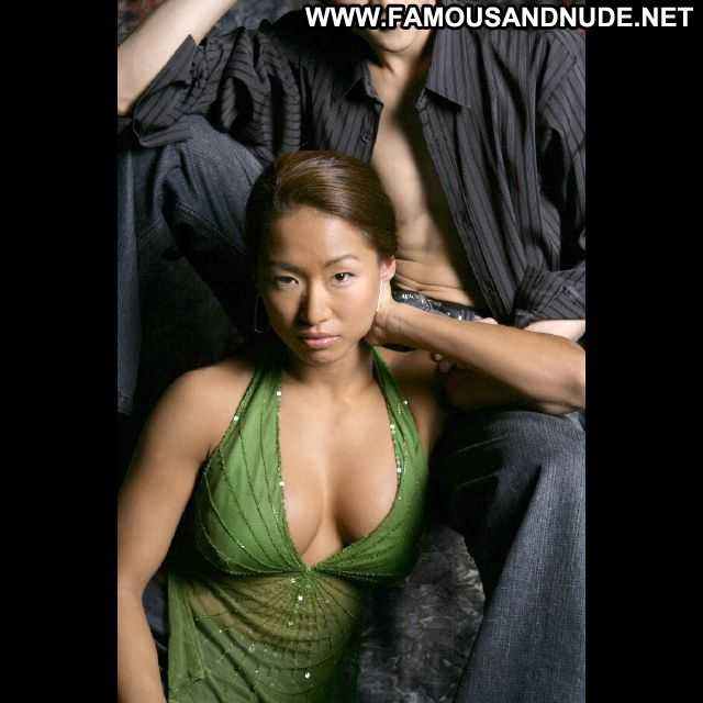 Gail Kim No Source Posing Hot Sexy Dress Famous Babe Sexy Cute