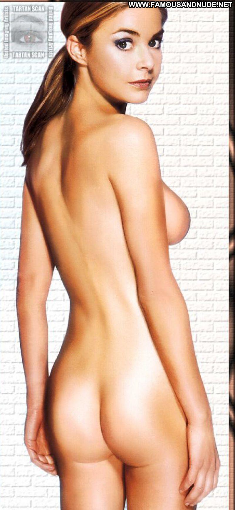 Hot blonde posing in latex 1