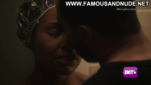 Gabrielle Union Being Mary Jane Shower Sex Scene Actress Hot