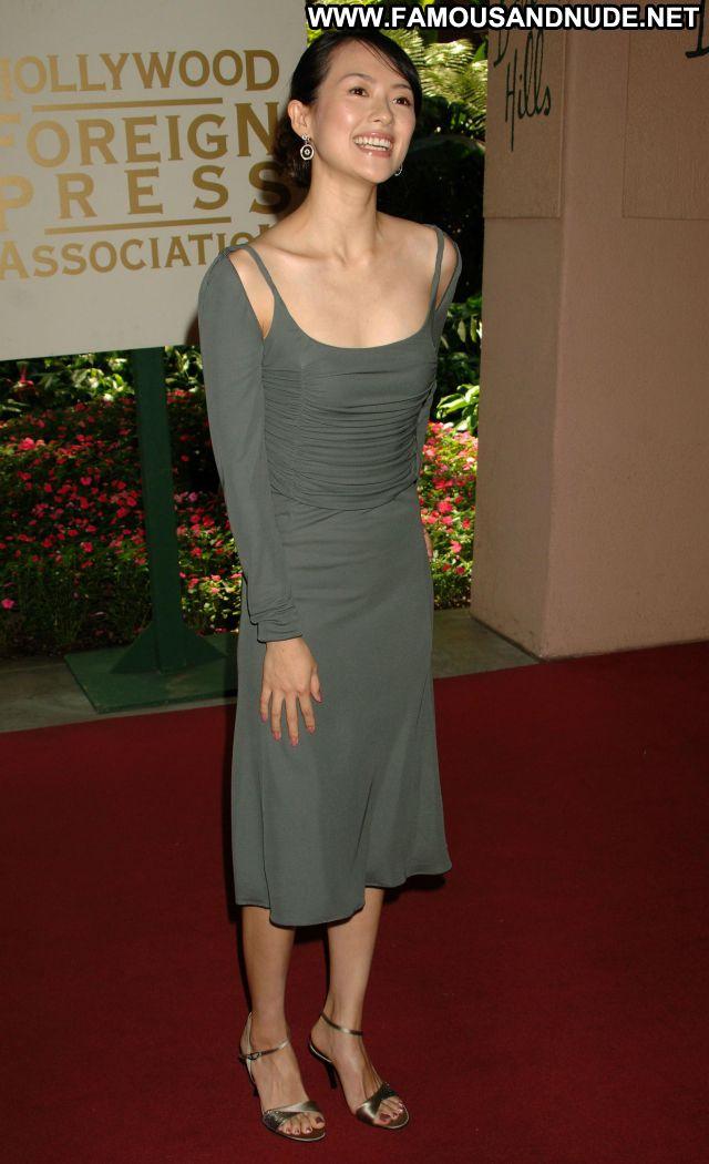 Zhang Ziyi No Source Celebrity Famous Celebrity Posing Hot Sexy Dress