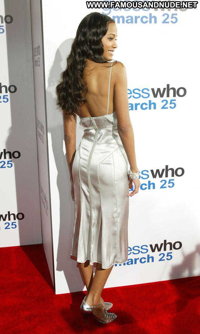 Zoe Saldana No Source Hot Ebony Babe Posing Hot Famous Celebrity