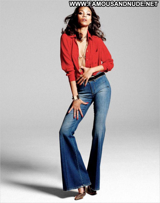 Zoe Saldana No Source Famous Celebrity Celebrity Posing Hot Cute Sexy