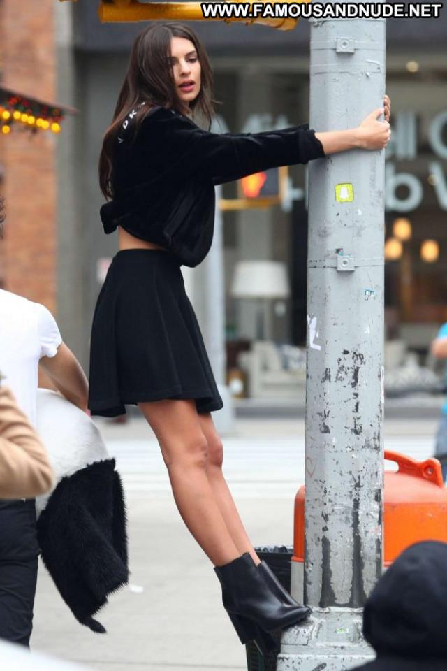 Photos New York Posing Hot Black Photoshoot Celebrity New York Skirt