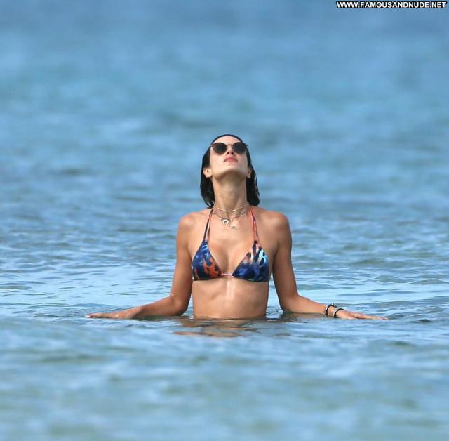 Alessandra Ambrosio Topless Photoshoot Candids Swimsuit Bikini Model