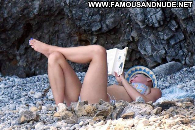 Katy Perry The Beach Beach Beautiful Babe Posing Hot Celebrity Bikini
