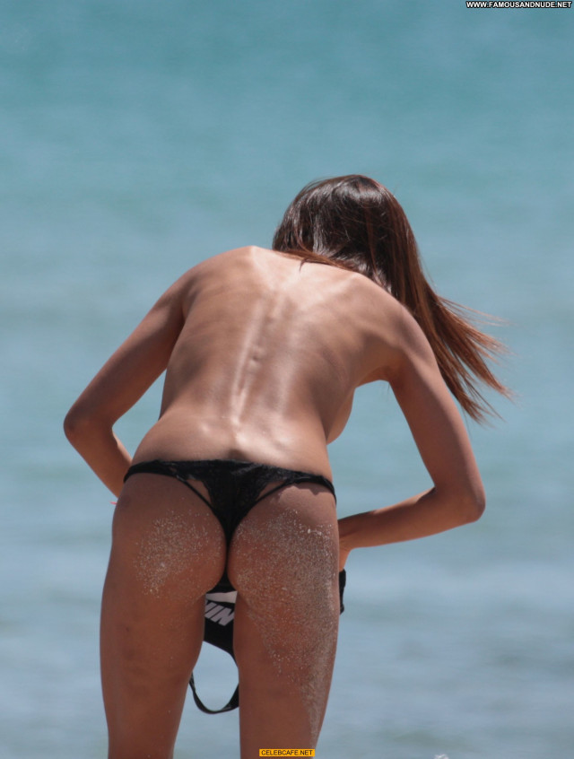 Patricia Contreras The Beach Nude Celebrity Beautiful Babe Tits