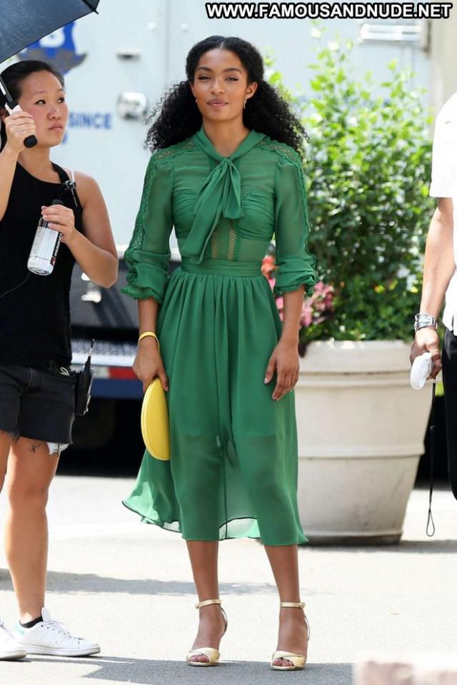Yara Shahidi New York  New York Paparazzi Beautiful Babe Posing Hot