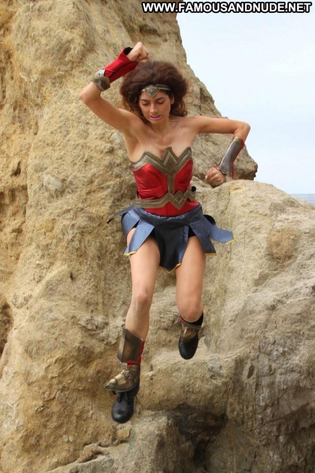 Blanca Blanco The Beach In Malibu Malibu Mali Posing Hot Celebrity