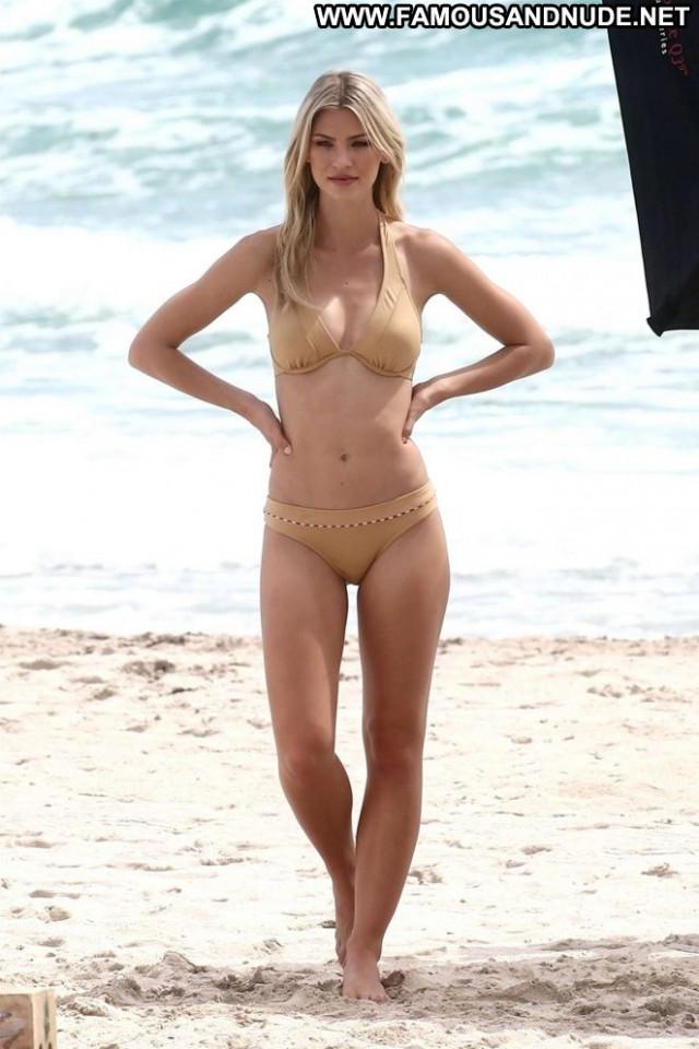 Andrea Cronberg Miami Beach Photoshoot Paparazzi Bikini Beach