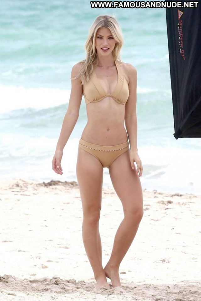 Andrea Cronberg Miami Beach Photoshoot Beautiful Beach Celebrity