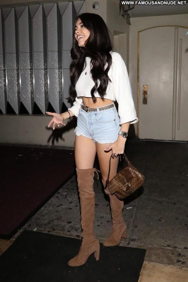 Amelle Berrabah West Hollywood Nyc Legs Celebrity Posing Hot Park