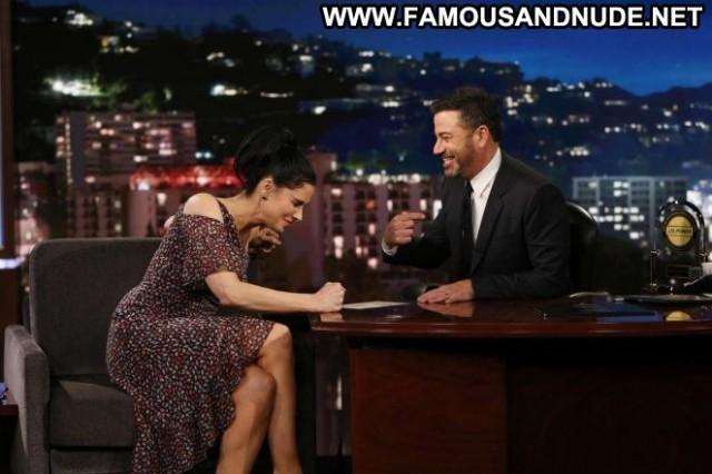 Sarah Silverman Jimmy Kimmel Live Beautiful Los Angeles Posing Hot