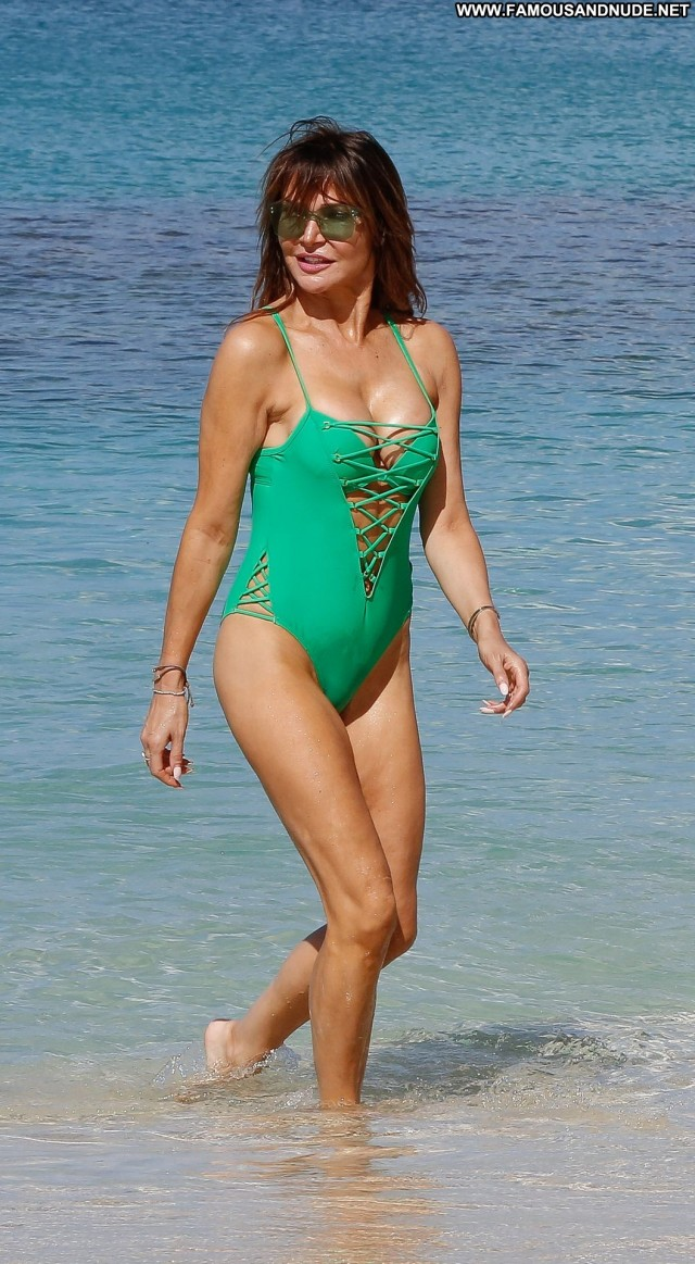 Lizzie Cundy The Beach Babe Old Posing Hot Swimsuit Beautiful Milf