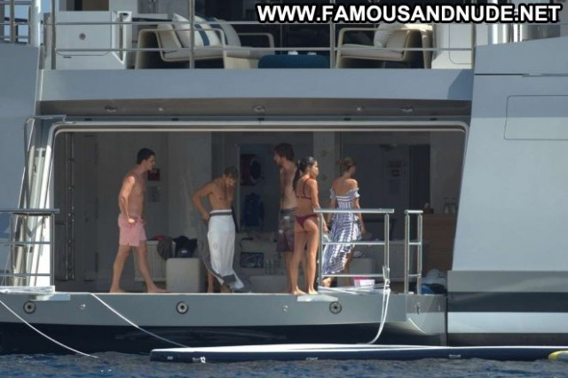 Sara Sampaio No Source Yacht Celebrity Ibiza Bikini Paparazzi Babe
