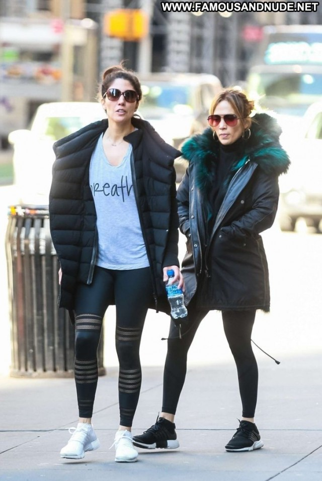 Jennifer Lopez No Source Posing Hot Paparazzi Nyc Celebrity Gym