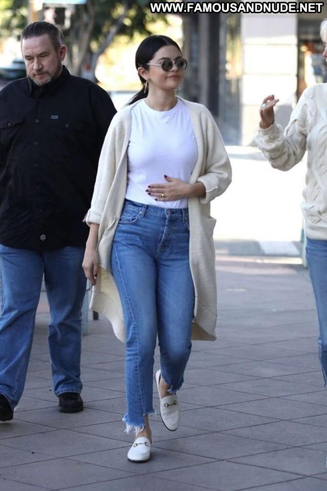Selena Gomez Los Angeles Babe Jeans Celebrity Beautiful Paparazzi