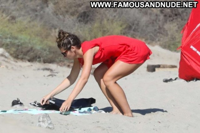 Shauna Sexton The Beach In Malibu Black Celebrity Bikini Sex Babe