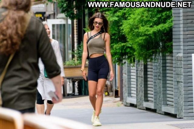 Emily Ratajkowski New York Paparazzi Shorts Celebrity New York Babe