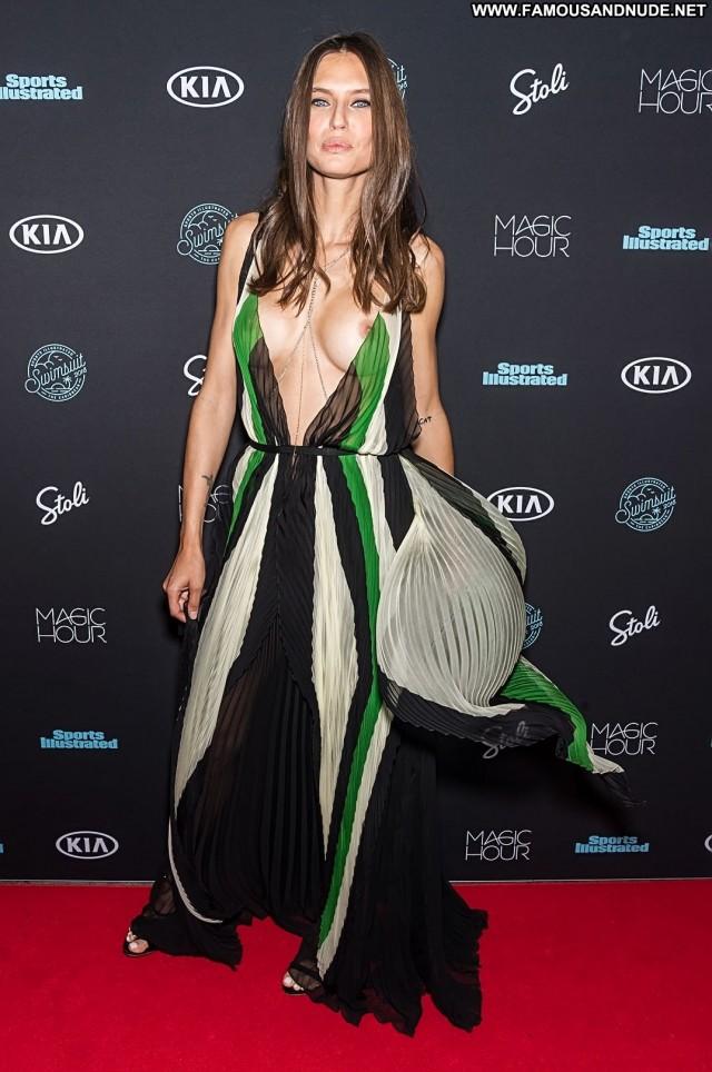 Bianca Balti Sports Illustrated Swimsuit  Posing Hot See Through Big